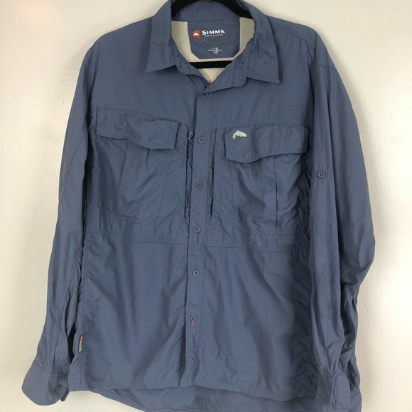 5217cb3d Simms Shirts | Guide Series Vented Long Sleeve Shirt | Poshmark